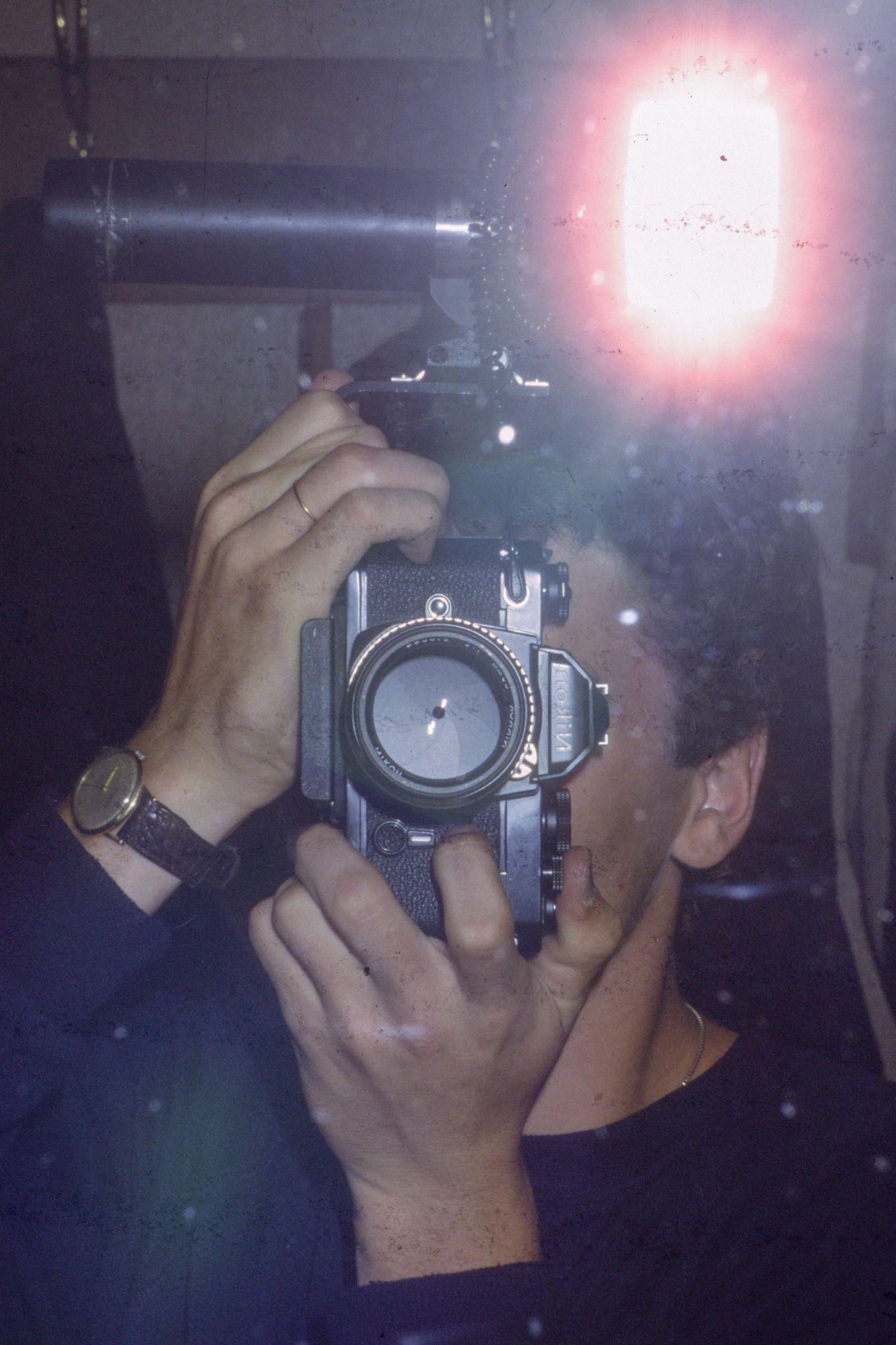 Fotograf Svend Krumnacker 1979 Nikon FM Braun Stabblitz