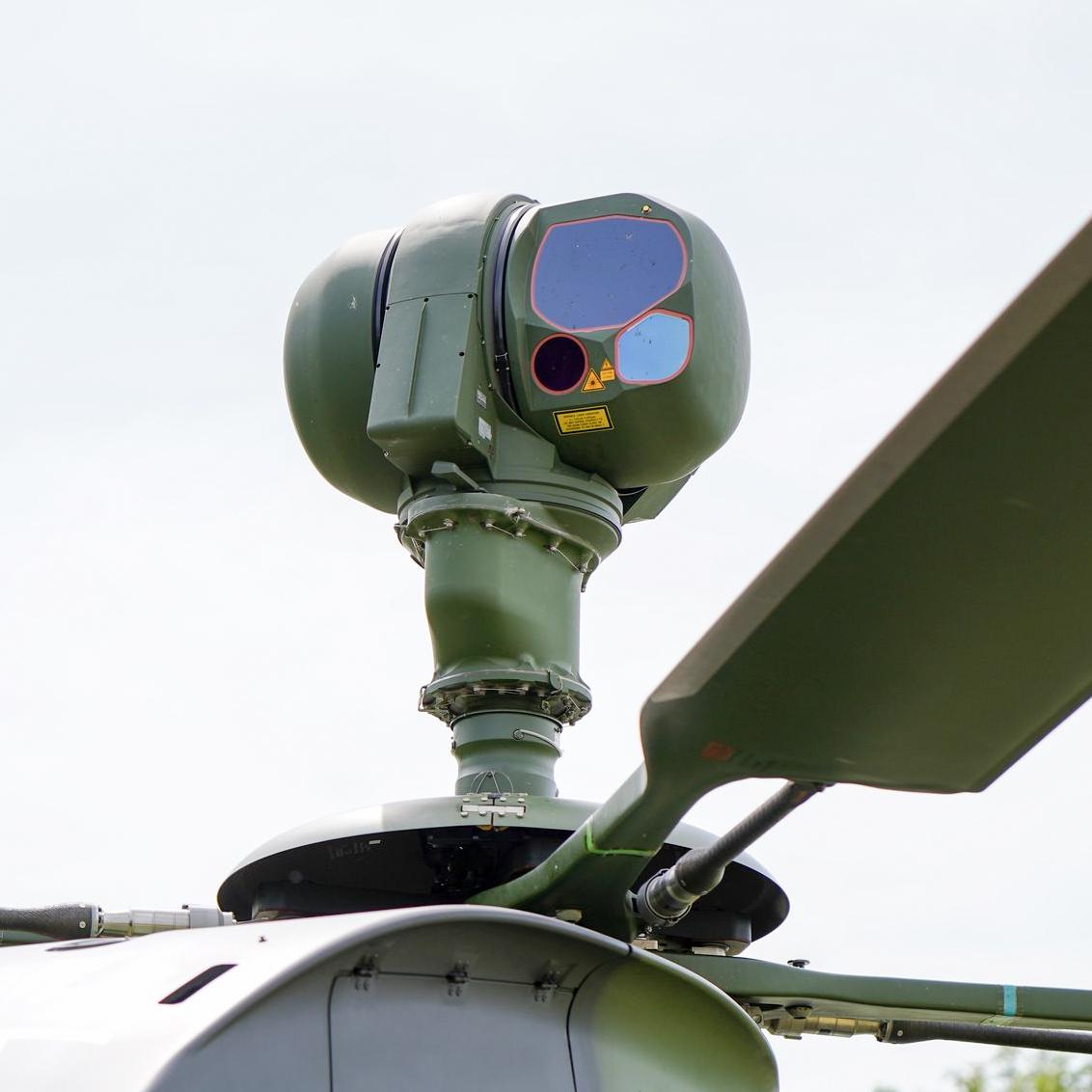 Tiger Hubschrauber am Boden Bundeswehr Fliegerhorst Erding