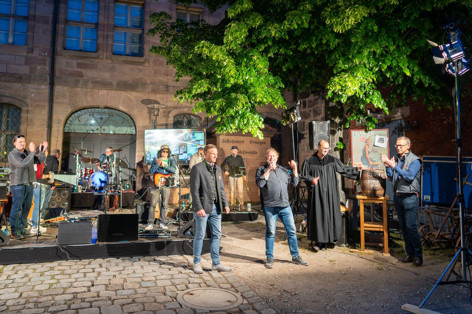 Virtuelles Fassbegräbnis Bergkirchweih Erlangen 2021