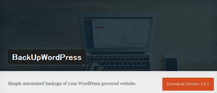 WordPress › BackUpWordPress « WordPress Plugins