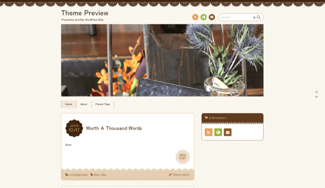 Theme Preview   Previewing Another WordPress Blog (6)