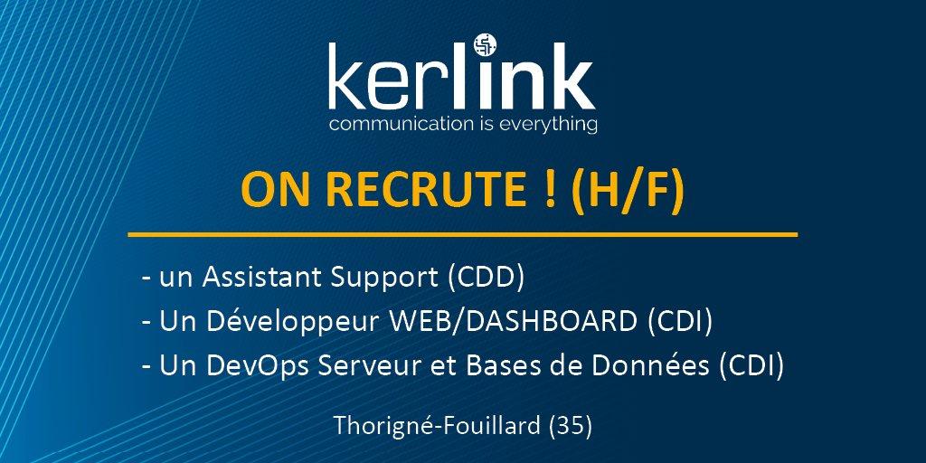 Vous cherchez une nouvelle opportunité professionnelle ? Kerlink recrute :  - u...