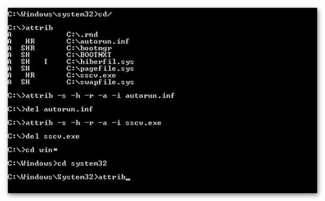 Ищем вирусы в папке System32 | Интернет-профи