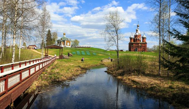 Волга матушка река