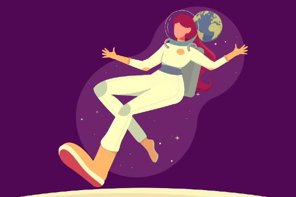 mujer cosmonauta