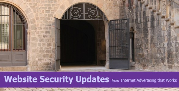 Website Security Updates from Internet Advertising that Works