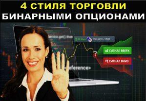 4 стиля торговли бинарными опционами
