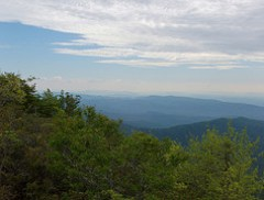 Blue Ridge Mountains from Tablerock