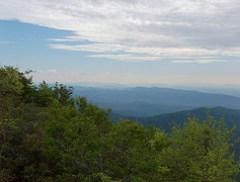 Blue Ridge Mountains from Tablerock