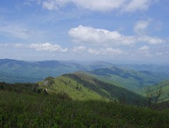 Looking West From Tennent Mountain in May