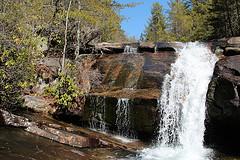 Wintergreen Falls on Grassy Creek