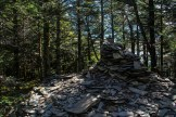LeConte summit cairn