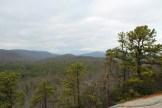 Pisgah Ridge from summit