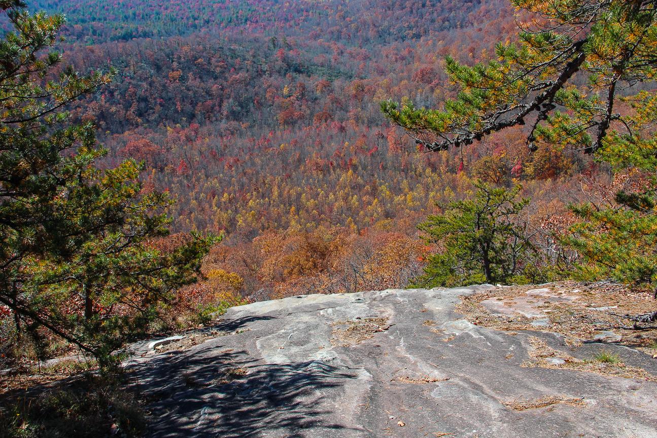 Meanderthals Pilot Rock Trail Pisgah National Forest