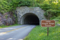 Trailhead at tunnel