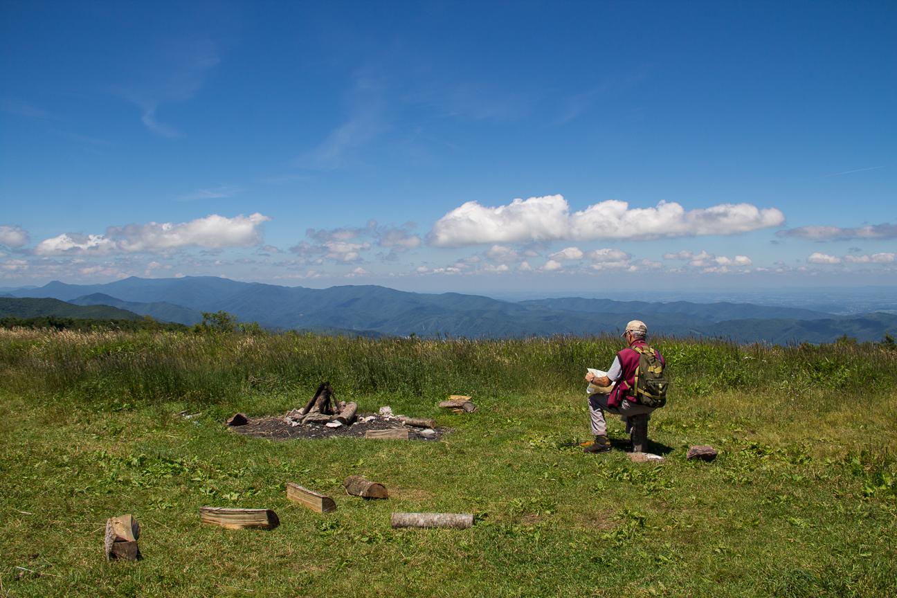 Meanderthals Appalachian Trail From Beauty Spot To Unaka