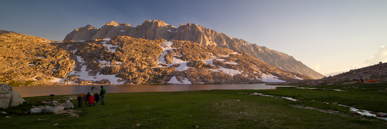 Morning by an Alpine Lake