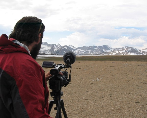 Shaun Carrigan Filming at Bighorn