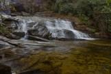 Greenland Creek Falls plunge basin