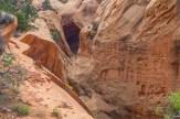 Climbing the canyon