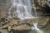 Base of Hickory Nut Falls