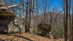 Outcrop on Hickory Mountain
