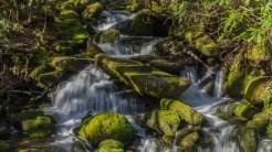 Kanati Fork cascade