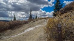 County Road 2 trailhead