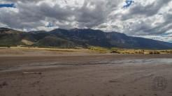 Blanca Peak from Medano Creek