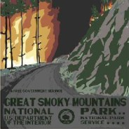 Artist's brilliant National Park posters advertise a grim future