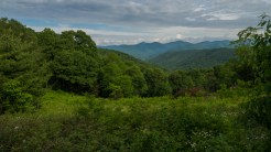 North from Sugar Creek Gap