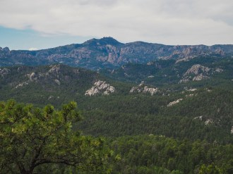 Black Elk Peak from Iron Mountain summit