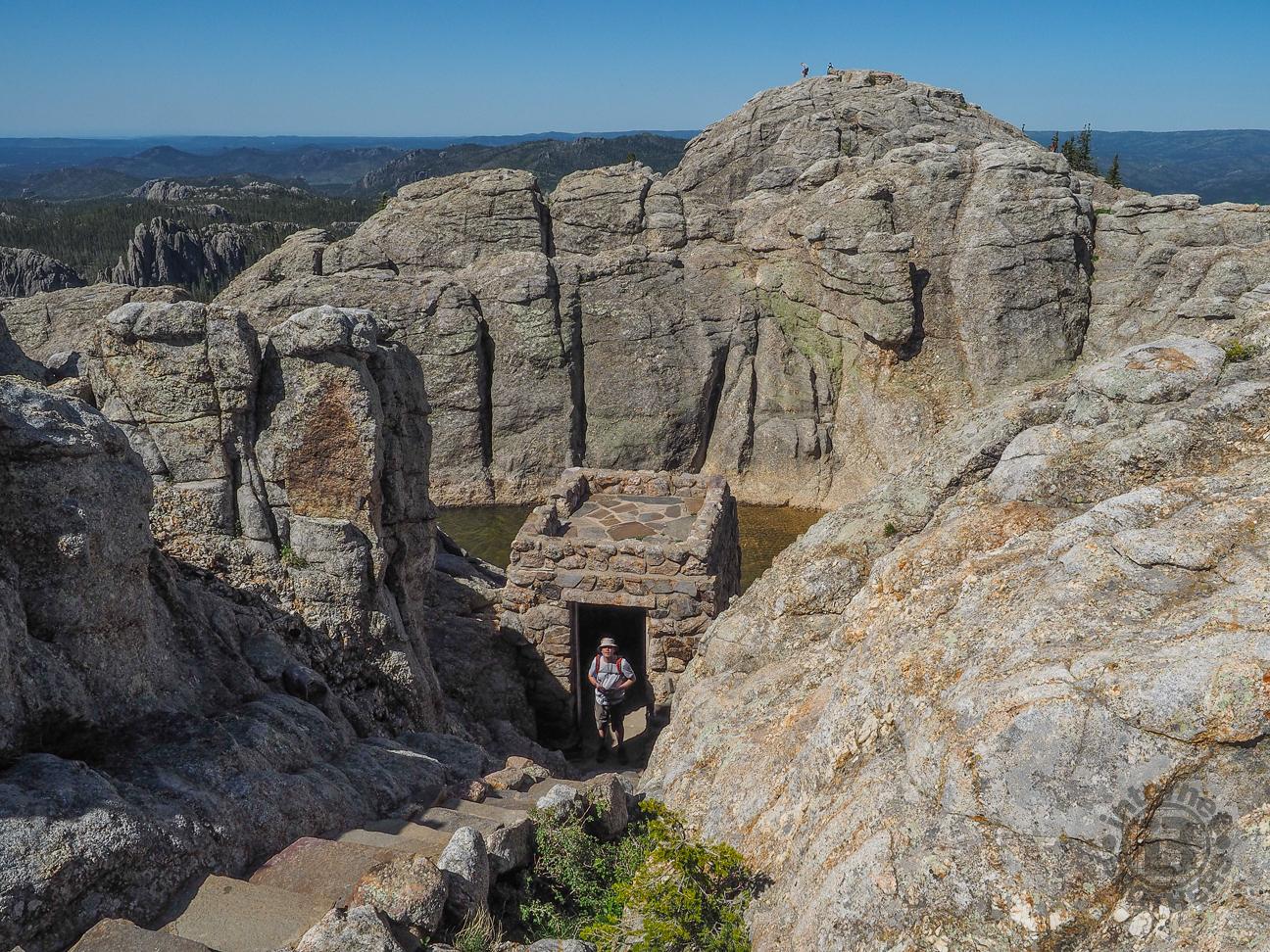 Meanderthals Cathedral Spires To Black Elk Peak Black
