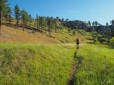Large outcrops