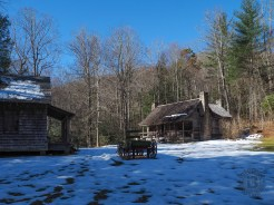 Cabins at Cradle of Forestry