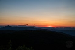 Beginning of sunrise