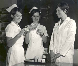 Happier Days at the Nursing School