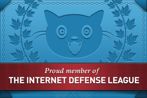 Medlem i The Internet Defense League