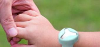 Pulsera conectada para control niños