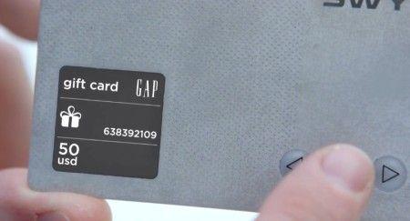 Swyp la tarjeta conectada