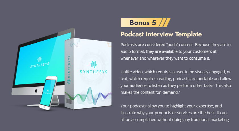 synthesys review bonus