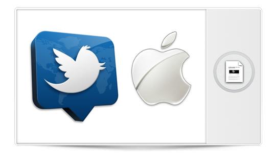 Apple y Twitter: ¿la manzana detrás del pajarito, o viceversa?