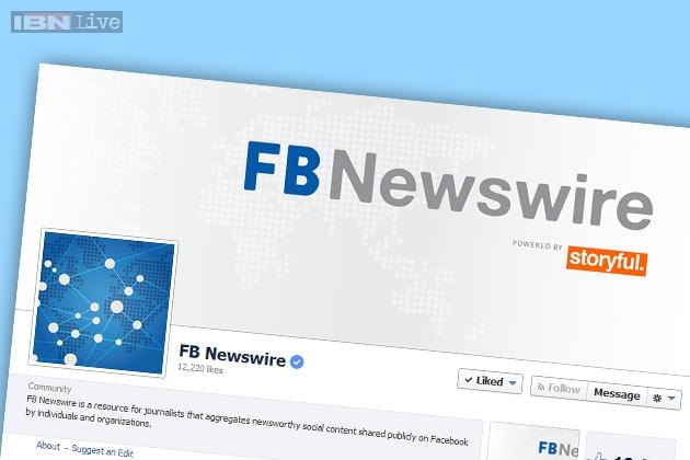 Newswire. Una fuente para periodistas, un negocio para Facebook
