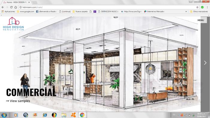 HDR: Diseño web al servicio del diseño de interiores