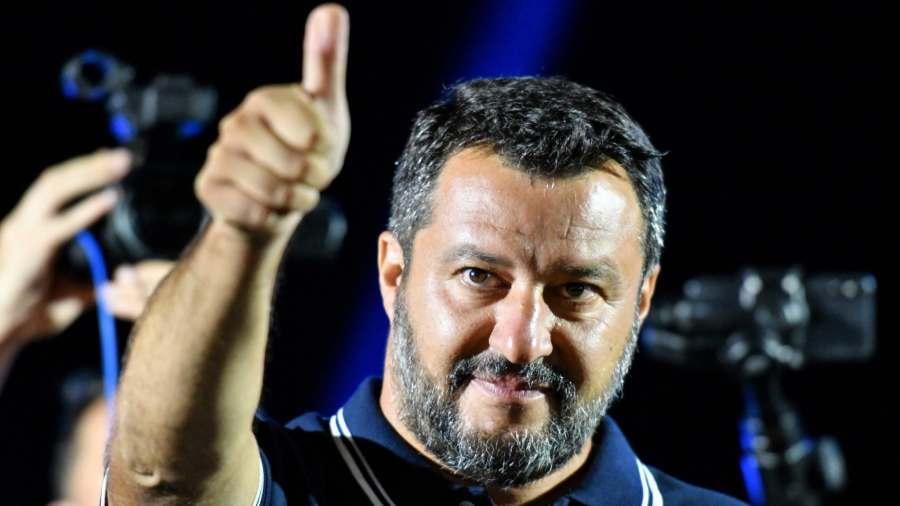 Salvini ezzel egy óriási brüsszeli hazugságról rántotta le a leplet