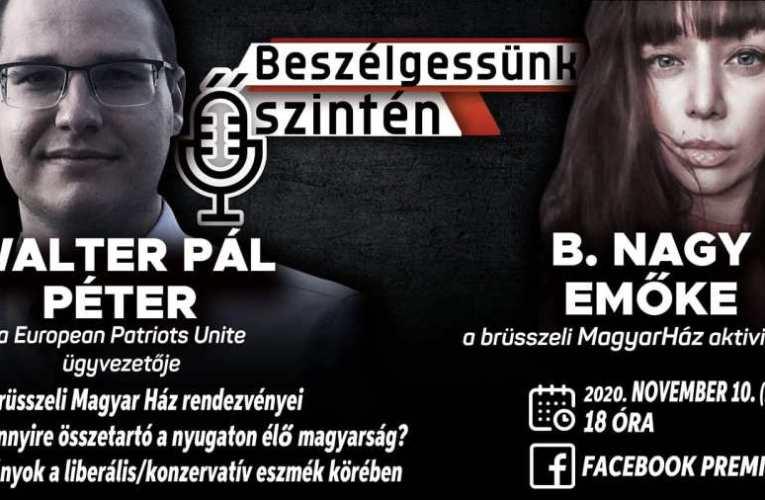 Magyarul tanít és a liberálisok ellen küzd a Brüsszelben élő magyar származású lány (videó)