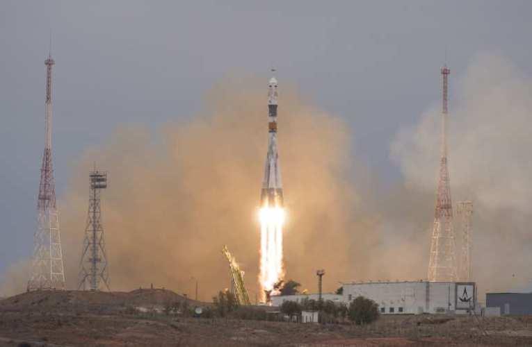 Magyar műholdakkal a fedélzetén startolt el egy Szojuz teherűrhajó Bajkonurból