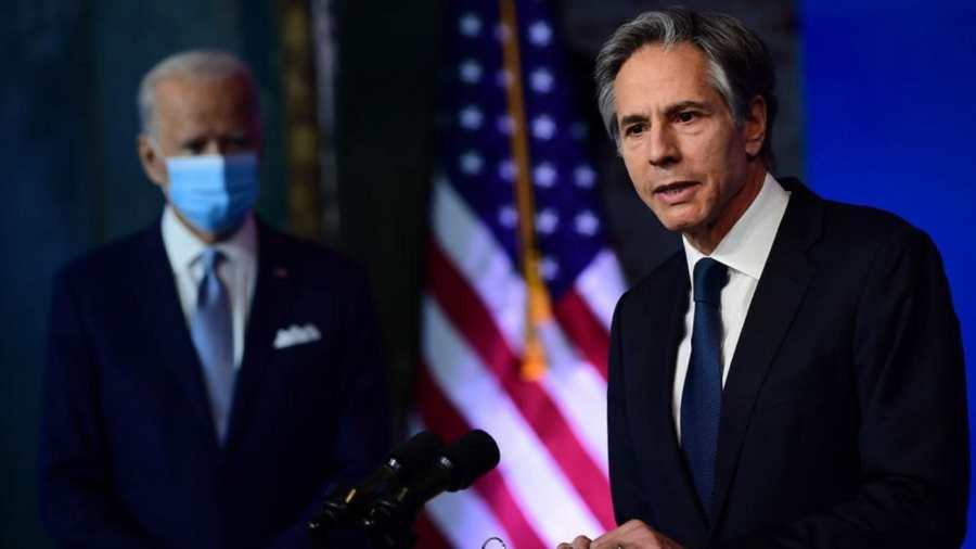 Az amerikai külügyminiszter az USA támogatásáról biztosította Ukrajnát