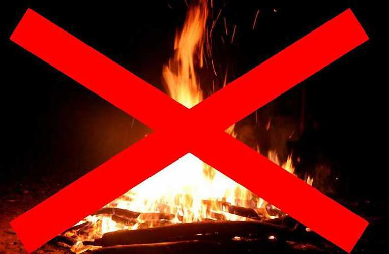 Országos tűzgyújtási tilalom lépett életbe