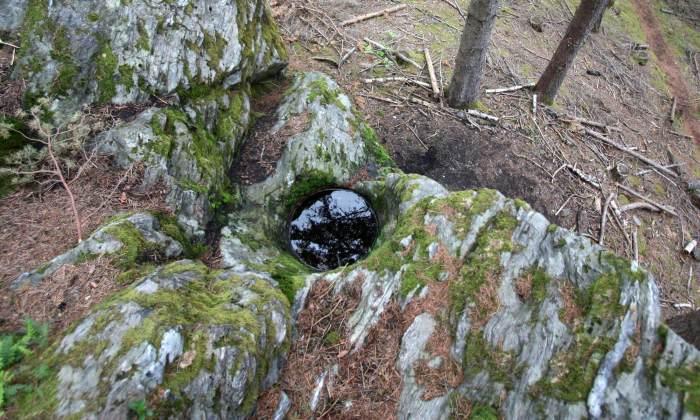 Gletschermuehle - Steter Tropfen höhlt den Stein